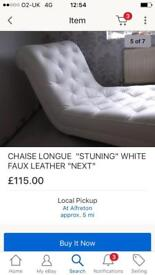 Chaise long from next