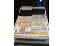 Sharp Cash Register