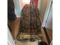 Jackal camo bed chair ( rare )