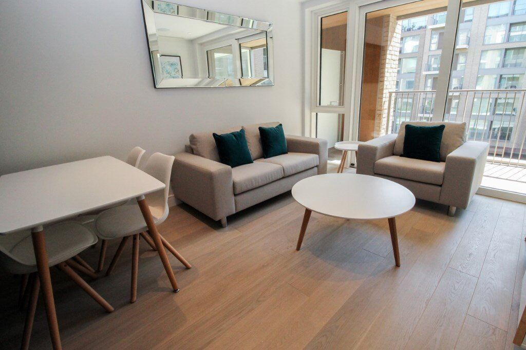 LUXURY BRAND NEW 1 BED CHELSEA CREEK LOCKSIDE HOUSE SW6 IMPERIAL WHARF FULHAM PUTNEY PARSONS GREEN