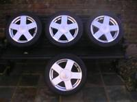 Ford Fiesta mk6 alloy wheels