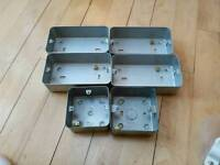 Electrical switches, backboxes etc