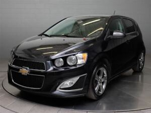 2015 Chevrolet Sonic LTZ HATCH TURBO MAGS TOIT CUIR