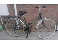Ladies Dawes Street Cruiser Step Through Hybrid City Commuter Bike Bicycle