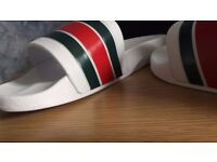 Gucci Slippers / Flip flops / Sliders WHITE