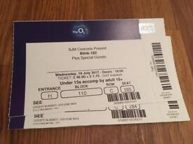 Blink 182 London 19 July Tickets