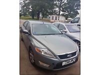 FOR BREAKING OR SPARES - FORD MONDEO ZETEC TDCi 1.8 DIESEL 125 BHP 2008