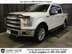 2015 Ford F-150 Lariat SuperCrew, NAV, FULL LOAD**