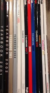 People Magazine Yearbooks '01-'13 collection,  (35 for all)
