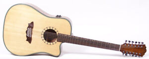 Washburn 12-string Guitar - D46SCE12 - Acoustic-Electric