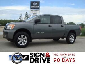 2014 Nissan Titan CREW CAB 4X4 *Only $95 Weekly $0 Down*