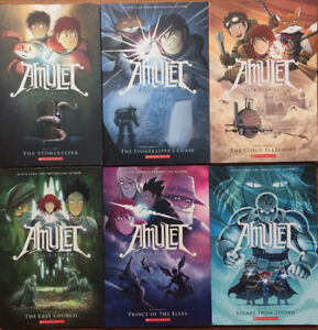 AMLUET GRAPHIC NOVELS complete 1-6 like new for $25