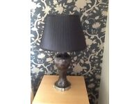 2 Black Table Lamps