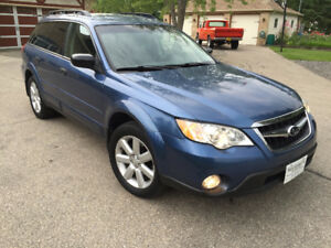 2008 Subaru Outback Symmetrical All Wheel Drive Finance OAC