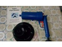 BRAND NEW ASTON PIPE UNBLOCKER /SHOOTER