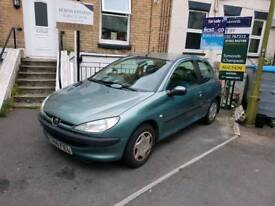 Peugeot 206 1.2 petrol with only 53 340 miles!!!