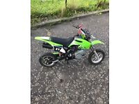 50cc mini motor cross bike!