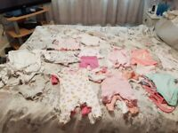 Baby girl clothes newborn and first size