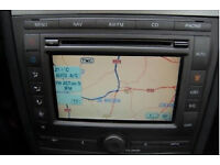 FORD DENSO 2012 WESTERN EUROPE SATELLITE NAVIGATION UPDATE DISC