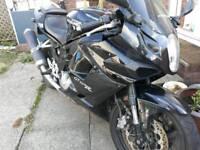 Motorbike motorcycle 650r comet hyosung