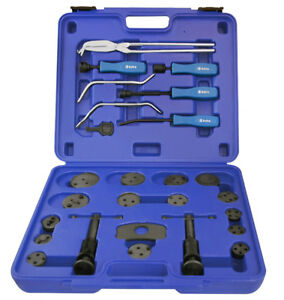 18pc Brake Caliper Wind Back Tool Set & 8pc Pro. Brake Tool Set