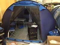 Brand new trespass torissdale 6 man tent