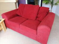 2 two seater sofas (collection only)