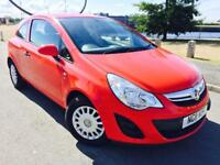 VAUXHALL CORSA 1.0 S ECOFLEX 3d 64 BHP FULL HISTORY IMMACULATE CO (red) 2011