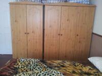 Complete Bedroom Furniture Suite in Light Oak - 5 items