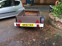 car trailer for swap