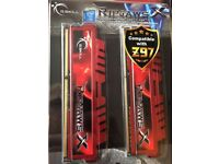 G.Skill Ripjaws DDR3 1866mhz 2 x 4GB Sticks (8GB) Ram Memory PC Gaming 1150 Z97 Haswell Intel i5 i7