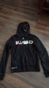 Billabong hoodie reverse able jacket girls size 14