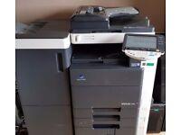 Konica Minolta Bizhub C451 Copier Printer Scanner + Finisher - LOW PRINT COUNT