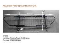 Adjustable Pet Dog Guard Grill
