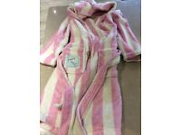Girls dressing gown by joules age 6-7