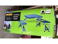 Folding picnic table! Ex con
