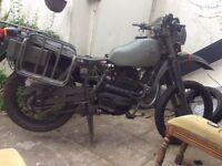 Harley Davidson Armstrong mt 500 £1300