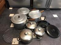 Bundle of pots and pans