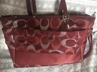 COACH changing bag