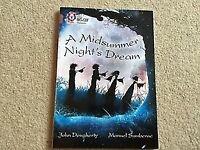 Collins Big Cat A Midsummer Night's Dream Book by Dougherty & Sumberac