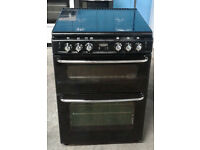 C118 Black Stoves 60cm Double Oven Gas Cooker, Comes With Warranty & Can Be Delivered Or Collected