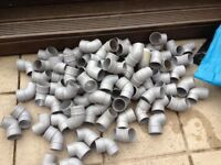 Guttering and fall pipe fittings