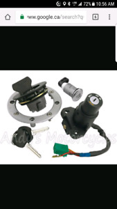 Motorcycle ignition kit. Comes with 2 keys BNIB