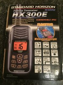 HX300E Floating Transceiver - Marine