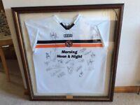 Dundee Utd Signed Shirt