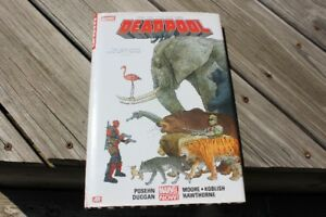 MARVEL  DEAD POOL  #1   HARD COVER BOOK