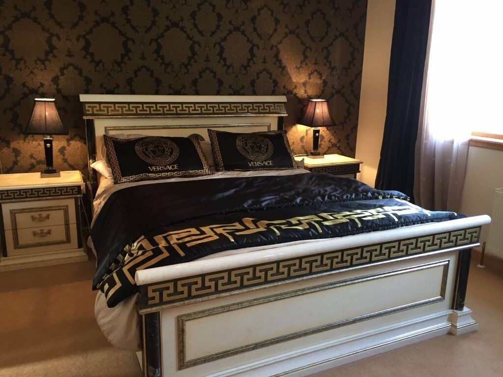 versace bedroom set versace style imported italian bedroom suite stunning 13722