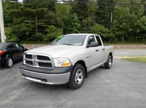 2010 DODGE RAM ST QUAD CAB 4X4...LOADED!! 5.7 HEMI! APPLY TODAY!