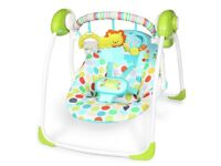 Used once baby swing