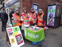 Volunteer Fundraiser for Oxjam Nottingham Music Festival - raising funds for Oxfam